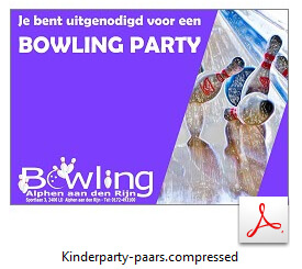 Kinderparty paars